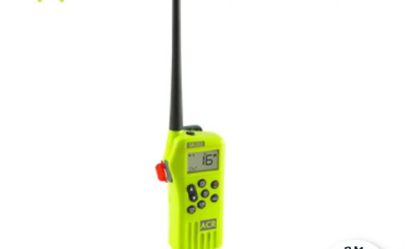 SR203 VHF HANDHELD SURVIVAL RADIO
