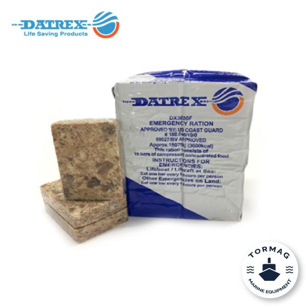 Comida y agua de emergencia Datrex